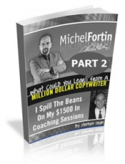 Tapping Michel Fortins Brain: Volume 2