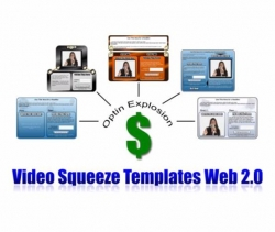 Video Squeeze Templates Web 2.0