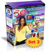 50 Professional Biz Header Templates : Set 3 Private Label Rights