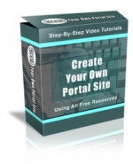 Create Your Own Portal Site Using All Free Resources Private Label Rights