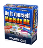 Do It Yourself Minisite Kit Private Label Rights