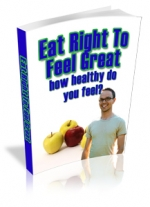 Eat Right To Feel Great Private Label Rights