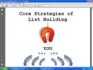 Core Strategies Of List Building Private Label Rights