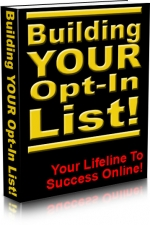 Building Your Opt-In List! Private Label Rights