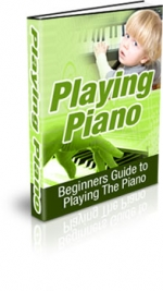 Playing Piano Private Label Rights