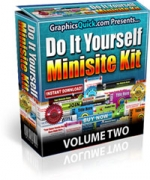 Do It Yourself Minisite Kit : Volume 2 Private Label Rights