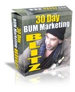 30 Day Bum Marketing Blitz Private Label Rights