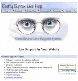 Create A Live Help Enhanced Website