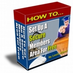 How To Set Up A Secure Members Area For Free
