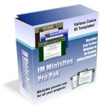 IM Minisites Pro Pak Private Label Rights