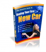 Buying Your First New Car Private Label Rights