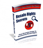 Resale Rights Secrets Private Label Rights