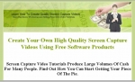 Learn How To Create Quality Screen Capture Videos Private Label Rights