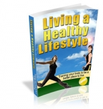 Living a Healthy Lifestyle Private Label Rights