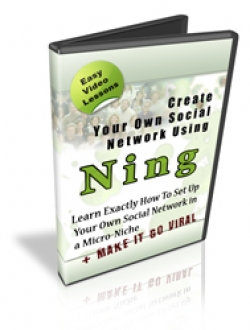 Create Your Own Social Network Using Ning