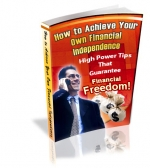 How To Achieve Your Own Financial Independence Private Label Rights