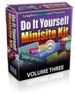 Do It Yourself Minisite Kit : Volume 3