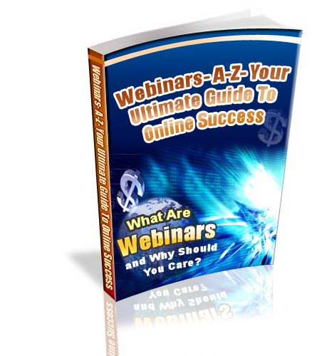 Webinars A-Z : Your Ultimate Guide To Online Success