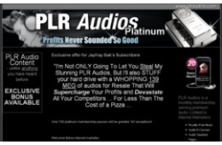 PLR Audios Platinum
