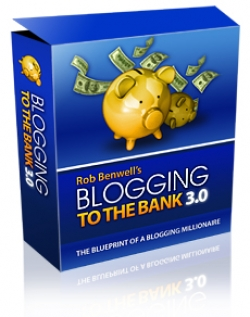 Blogging To The Bank 3.0 - Presell Template