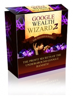 Google Wealth Wizard 2 - Presell Template