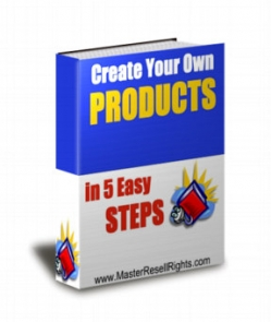 Create Your Own Products In 5 Easy Steps