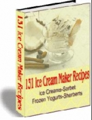 131 Ice Cream Maker Recipes Private Label Rights