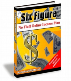 Six Figure No Fluff Online Income Plan
