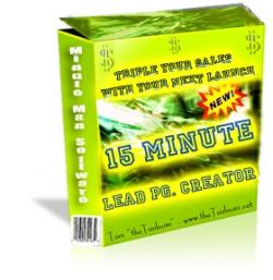 15 Minute Lead PG. Creator