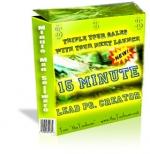 15 Minute Lead PG. Creator Private Label Rights