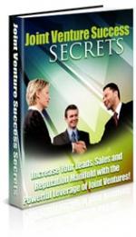 Joint Venture Success Secrets Private Label Rights