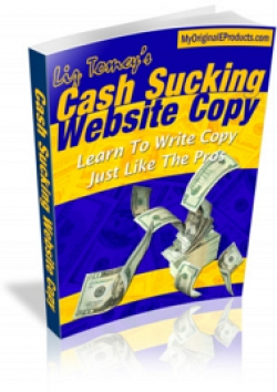 Cash Sucking Website Copy