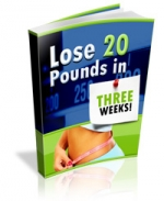 Lose 20 Pounds In Three Weeks! Private Label Rights