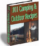 101 Camping & Outdoor Recipes Private Label Rights