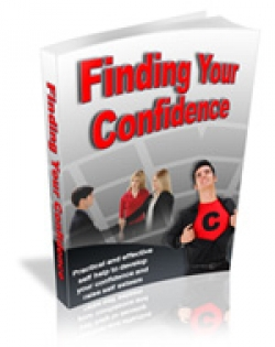 Finding Your Confidence