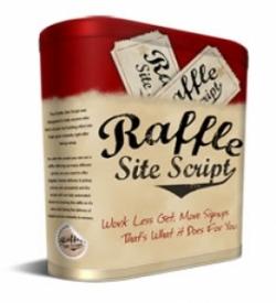 Raffle Site Script