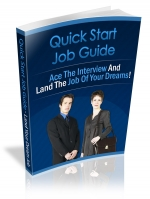 Quick Start Job Hunting Guide Private Label Rights