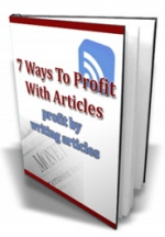 7 Ways To Profit With Articles Private Label Rights