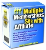 Multiple Memberships Site With Affiliate Private Label Rights