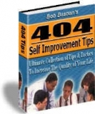 404 Self Improvement Tips Private Label Rights
