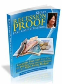 Recession Proof Fast Cash Strategies