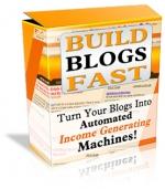 Build Blogs Fast Private Label Rights