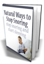 Natural Ways to Stop Snoring Private Label Rights