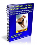 Top 10 Weight Loss Myths Private Label Rights