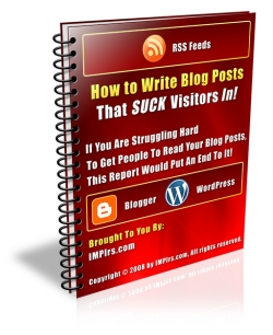How to Write Blog Posts That SUCK Visitors In!