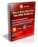 How to Write Blog Posts That SUCK Visitors In! Private Label Rights