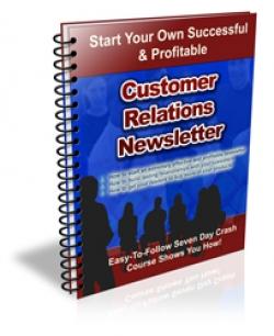 Customer Relations Newsletter