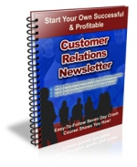 Customer Relations Newsletter Private Label Rights