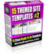 15 Theme Templates #2 Private Label Rights