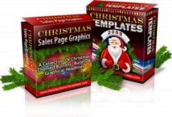 Christmas Sales Page Graphics & Templates